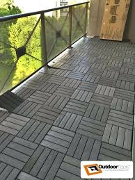 Ikea Outdoor Flooring Awry And Tools Used In Balcony Floor Tile Installations Tiles Gone
