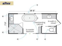 Long Narrow Bathroom Floor Plans DMA Homes