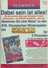 winter olympics lillehammer 94 1993 promotional