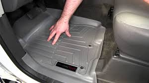 review of the weathertech front floor liners on a 2012 nissan