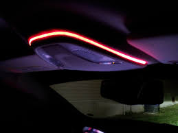 Interior DashBoard RED light EXPAND it to more in the car