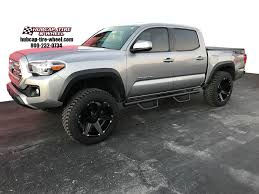 100 Tires And Wheels For Trucks 2017 Toyota Tacoma W 20 Tuff T12 Black