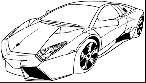 Remarkable Sports Car Coloring Pages Printable With Bugatti And Online
