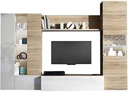 fores set wohnzimmer tv mit säulen kommode möbel haus 016642