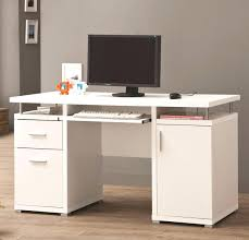 Small White Corner Computer Desk by Desk Bright 127 White Corner Computer Desk For Home Enchanting