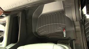 review of a weathertech front floor liner on a 2011 ford f 250