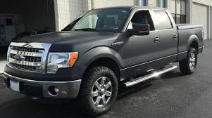 Ford F-150 Matte Black Truck Wrap – Custom Vehicle Wraps
