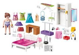 dollhouse schlafzimmer mit modischem design 70208