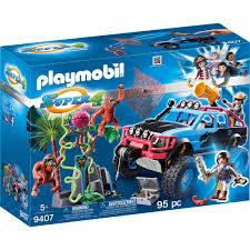 100 Juegos De Monster Truck PLAYMOBIL Super 4 9407 Con Alex Y Rock Brock