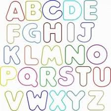 Rainbow Bubble Font Perfect For Chicka Boom Letters More Mas