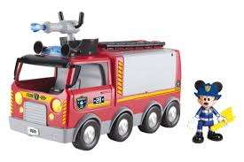 Imc Toys Mickey Mouse Clubhouse Emergency Fire Truck 181922 ...