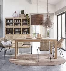 ovaler teppich aus jute und baumwolle terrakottafarben 160x230 maisons du monde