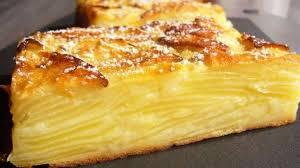 recette dessert aux pommes gâteau invisible aux pommes fondantes recette par rêves de