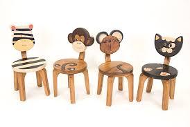 chaise enfant en bois chaise animaux enfant bois 5139