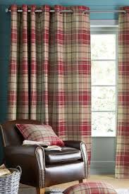 Thermal Lined Curtains Australia by Red Curtains Red Blackout U0026 Lined Curtains Next Uk