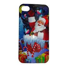 Designer IPhone 4s 4 Cases Iphone Cases UK Santa Claus Jr Pattern