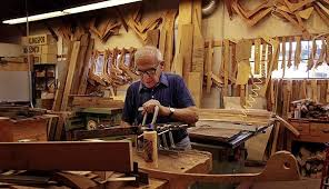 Sam Maloof Rocking Chair Video by Sam Maloof Dies At 93 Designer And Builder Of Simple Beautiful