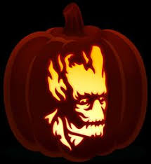 The Joker Pumpkin Stencil by Easy Printable Pumpkin Stencils Joker Pumpkin Stencil By