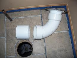 toilet flange on concrete floor plumbing diy home improvement