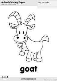 Free Goat Coloring Page From Super Simple Learning Tons Of Farm Animal Worksheets And