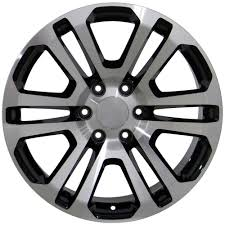 Amazon.com: 20x9 Wheels Fit GM Trucks - Sierra Style Rims - Black ... Ford F250 Fuel Maverick D260 Wheels Chrome With Gloss Black Lip Show Your Pictures Or Chrome And Black Rims On Truck Style 55 Factory Reproductions Amazoncom 20x9 Fit Gm Trucks Sierra Rims Verde Custom Kaos Wheel 18x85x112 Mm Kmc Street Sport Offroad Wheels For Most Applications And Truck Pictures Aftermarket 4x4 Lifted Sota Offroad Mrr Rw2 Aspire Motoring Atx Offroad 5 6 8 Lug Fitments Chevy Youtube American Racing Classic Custom Vintage Available