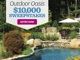Outdoor Oasis Sweepstakes