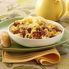 Ground Beef Noodle Bake Recipe Taste of Home