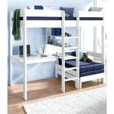 lit superpose 4 places lit mezzanine avec plan de travail