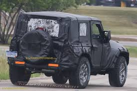 2018 Jeep Wrangler JL 2 Door Spied ZF 8 Speed Auto and Other