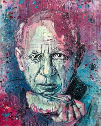 100 C215 Art Pablo Picasso By Picasso Art Stencil Street
