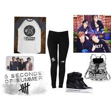 5 Seconds Of Summer Concert By Cammielulabell On Polyvore