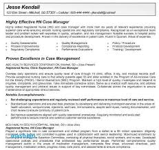 Case Manager Resume Examples Rn O 3464