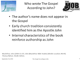 Who Wrote The Gospel According To John