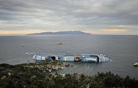 photos italian cruise ship sinking