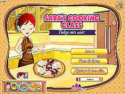 jeu ecole de cuisine de fudge aux noix école de cuisine de