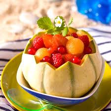 dessert aux fruits d ete salade d été aux fruits et au melon minute cuisine