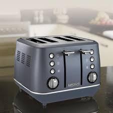 Evoke Steel Blue Special Edition 4 Slice Toaster