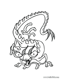 Preschool Coloring Pages Halloween Free Pictures Of Pumpkins Monster Monsters Creatures Color Book Witches Full