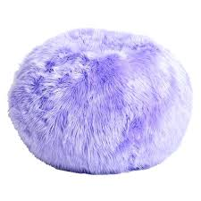 Fur Bean Bag Chairs Big Chair Purple
