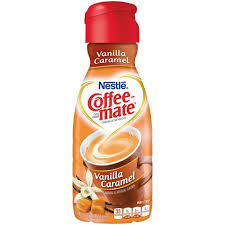 Nestle Coffee Mate Vanilla Caramel Liquid Creamer 16 Oz
