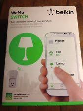 Belkin WeMo Light Switch Home Automation Wi Fi Control for Apple