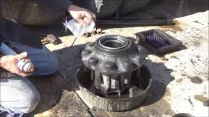 100 Semi Truck Tools Changing Axle Seal On Semi Truck At Home Without All The Special