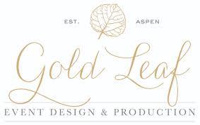 Gold Leaf Event Design & Production Planning Aspen CO