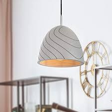 paco home led pendelleuchte e27 le für wohnzimmer esszimmer küche höhenverstellbar farbe beton grau leuchtmittel bernstein 300 lumen 5w