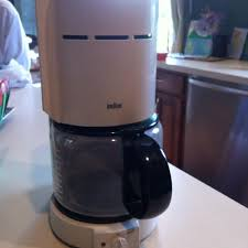 Braun 10 Cup Aeromaster Coffee Pot With Filter