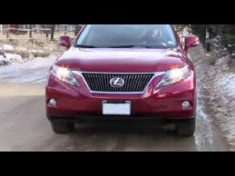 how to lexus rx350 bad denso ballast with a one