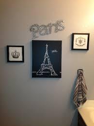 Paris Themed Bathroom Pinterest by Paris Themed Bathroom Wall Decor Paris Themed Bathroom