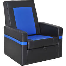Video Gaming Chair With Footrest by Ace Bayou X Rocker Storage Flip Video Game Chair With 2 0 Wired