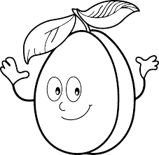 Cartoon Star Fruit Coloring Pages