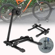 Floor Bike Stand Bike Storage Rack Folded Adjustable Parking Rack